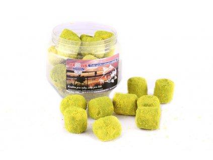 24176 kh dipovane chytaci pelety black halibut ananas 14 mm 150 g