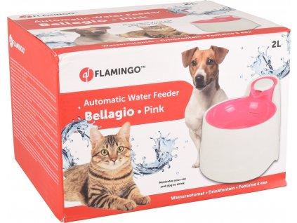 Flamingo Automatická fontánka Bellagio růžová 2000ml