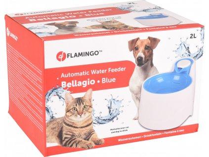Flamingo Automatická fontánka Bellagio modrá 2000ml