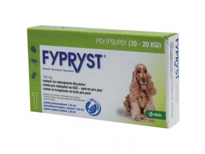 21263 krka fypryst spot on dog m sol 1x1 34ml 10 20kg