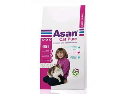 3505 1 asan cat pure 45 l family pack 9 kg