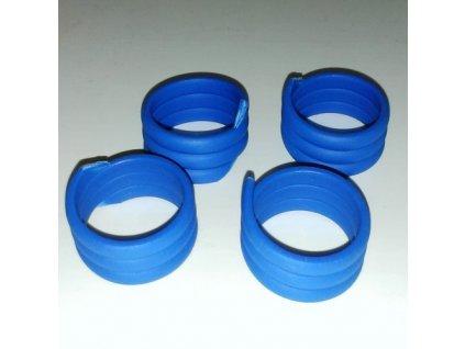 1543 krouzek spiralovy pro kachny 22 mm modry