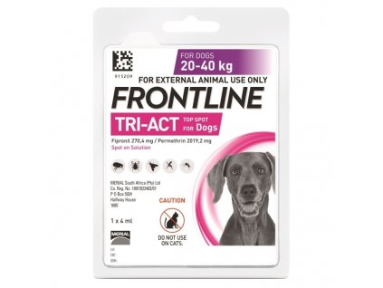 14768 1 merial frontline tri act pro psy spot on l 20 40 kg 1 x 4 ml