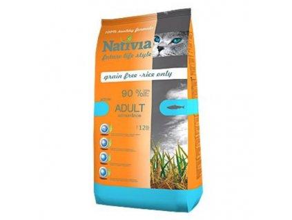 28931 nativia cat adult salmon rice active 1 5kg