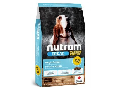 22679 nutram i18 ideal weight control dog 2 kg