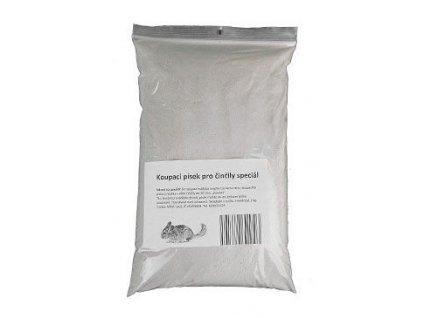 Písek koupací pro činčily Speciál 1kg