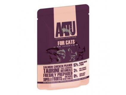 29558 aatu cat salmon n chicken n prawn kaps 85g