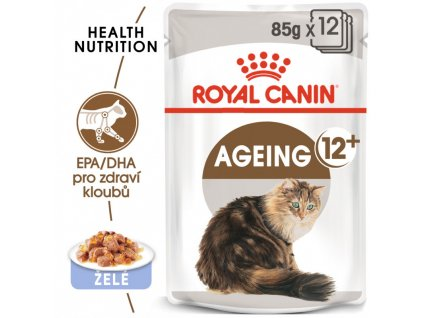Royal Canin Ageing +12 Jelly 12 x 85 g