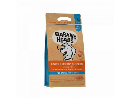 28829 barking heads bowl lickin chicken small breed 1 5 kg