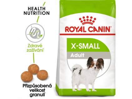 27449 royal canin x small adult 1 5kg