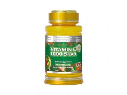13031 starlife vitamin c 1000 star 60 tbl kral vitaminu