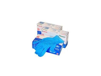 21761 batist rukavice nest vys flower nitril vel xl 100ks bez pudru