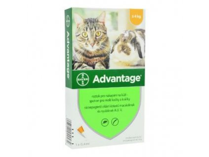 21230 bayer advantage 40 10 1x0 4ml pro kocky do 4kg