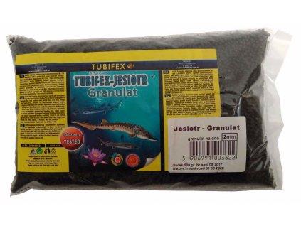 Tubifex krmivo pro jesetery 2 mm 0,5 kg