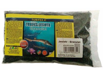 Tubifex krmivo pro jesetery 4 mm 0,5 kg