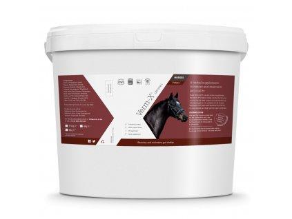 Verm-X Přírodní pelety proti střevním parazitům pro koně 4kg