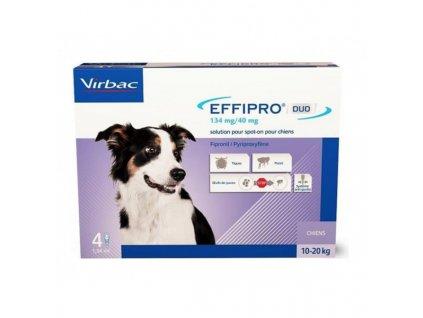 21215 virbac effipro duo dog m 10 20kg 134 40 mg 4x1 34ml