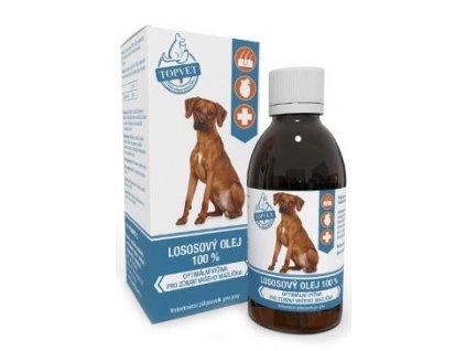 Lososový olej pro psy TOPVET 200ml