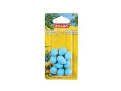 349 zolux falesna vejce kanarek 10ks modra zolux