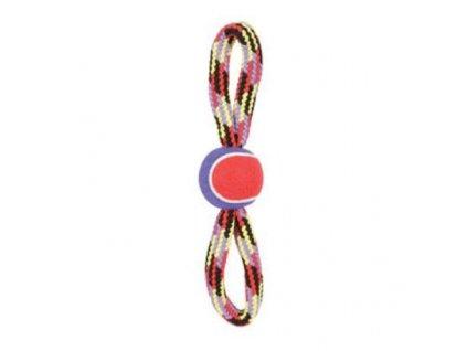 24959 zolux hracka pes tennis ball rope osmicka 36 cm