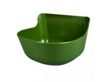 4156 zlab plastovy ka zavesny rovny 33 x 27 x 14 cm 8 5 l zeleny