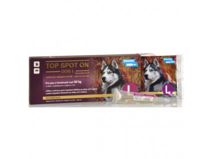 21287 bioveta top spot on dog l 1x3ml nad 30kg