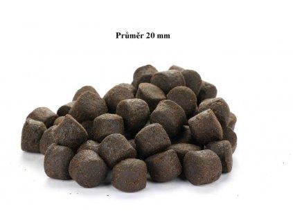 Coppens Krmivo Granule pro velké Jesetery 20 mm 1 kg potápivé