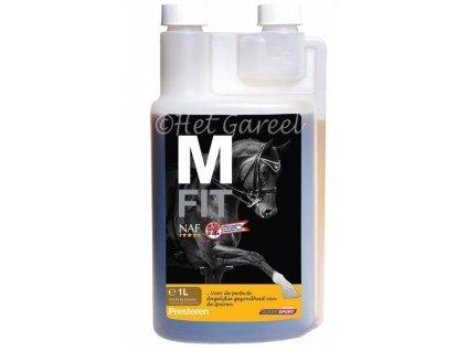 M Fit pro podporu svalů, láhev s dávkovačem 1000 ml