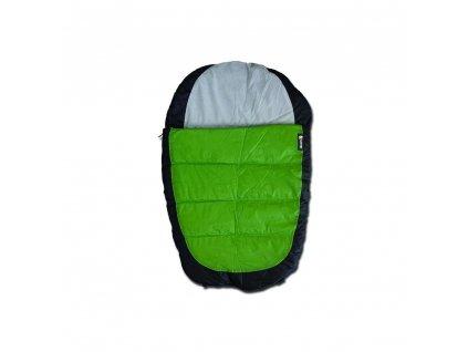 Alcott spacák pro psy, šedý/zelený, velikost S