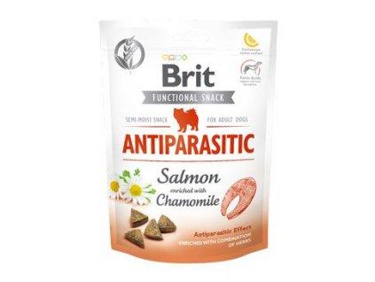 Brit Care Dog Functional Snack Antiparasit Salmon 150g
