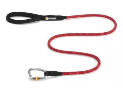 Ruffwear vodítko pro psy, Knot-a-Leash, červené, velikost S