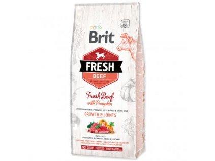15503 1 brit fresh beef with pumpkin puppy large 2 x 12 kg