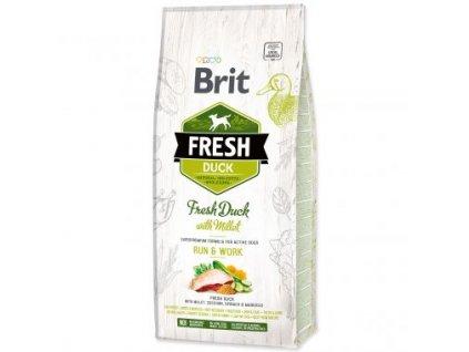 15509 1 brit fresh duck with millet active run work 2 x 12 kg