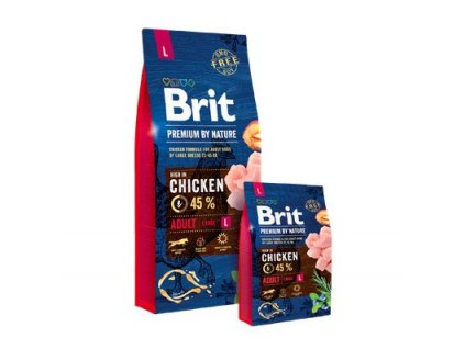4651 1 brit premium by nature adult l 2 x 15 kg