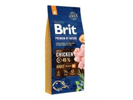 Brit Premium Dog by Nature Adult M 2 x 15 kg