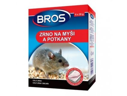 15479 bros jed zrno na hlodavce mysi potkany sacky 6 x 20 g