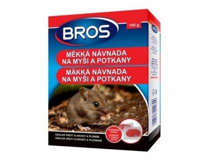 4165 bros mekka navnada na mysi a potkany 150 g rodenticid