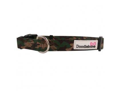 Doodlebone obojek, Army, velikost XL