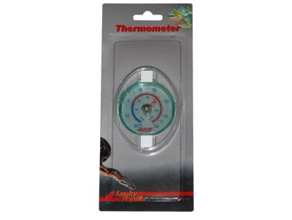 Lucky Reptile Glass Thermometer Teploměr ø 6cm