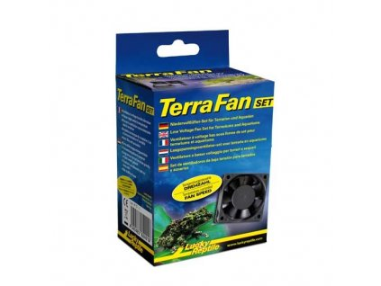 Ventilátory Lucky Reptile Terra Fan Set A/C adaptér + 2 ventilátory