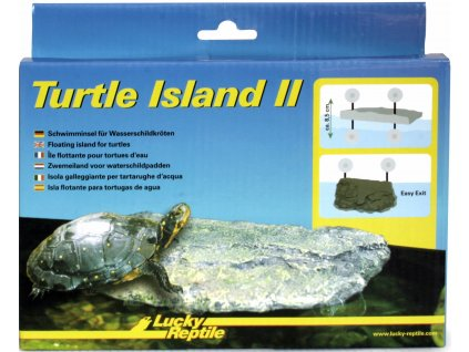 Lucky Reptile Turtle Island II Malý, cca 18x13x3 cm