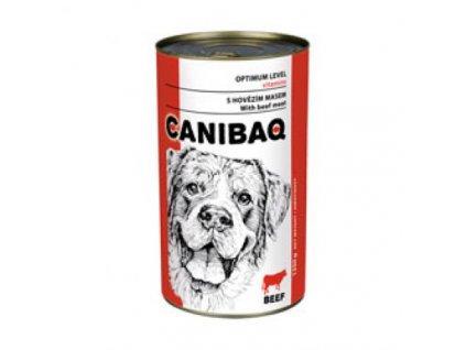 1621 canibaq classic konzerva pes hovezi 1250 g