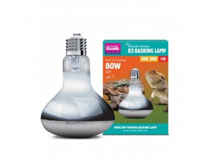 Arcadia D3 Basking Lamp 80W