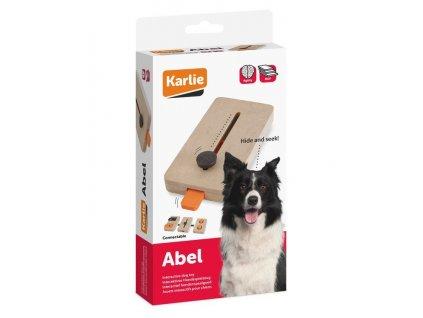 Karlie Interaktivní dřevěná hračka ABEL 22x12cm