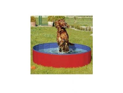 Bazén sklád. nylon pes 120x30cm blue/red KAR