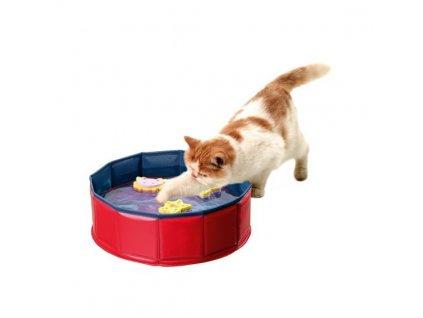 Karlie bazének se 3 hračkami, 30cmx10cm