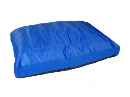 Karlie chladící pelíšek, modrý, 80x50x18cm