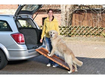 Karlie DOG ramp - skládací, rozměr 120x30x6cm