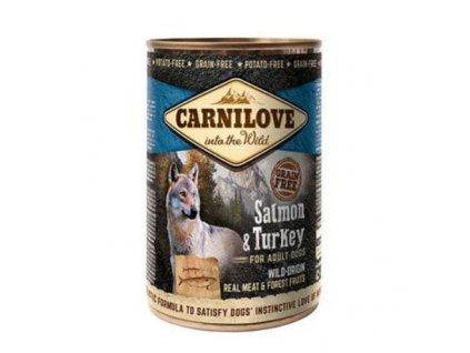 17780 carnilove wild konz meat salmon turkey 400 g