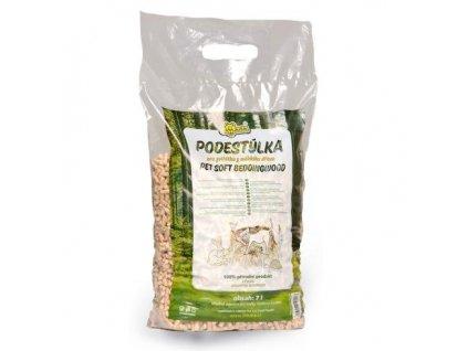 LIMARA dřevěná podestýlka, 7l/4kg